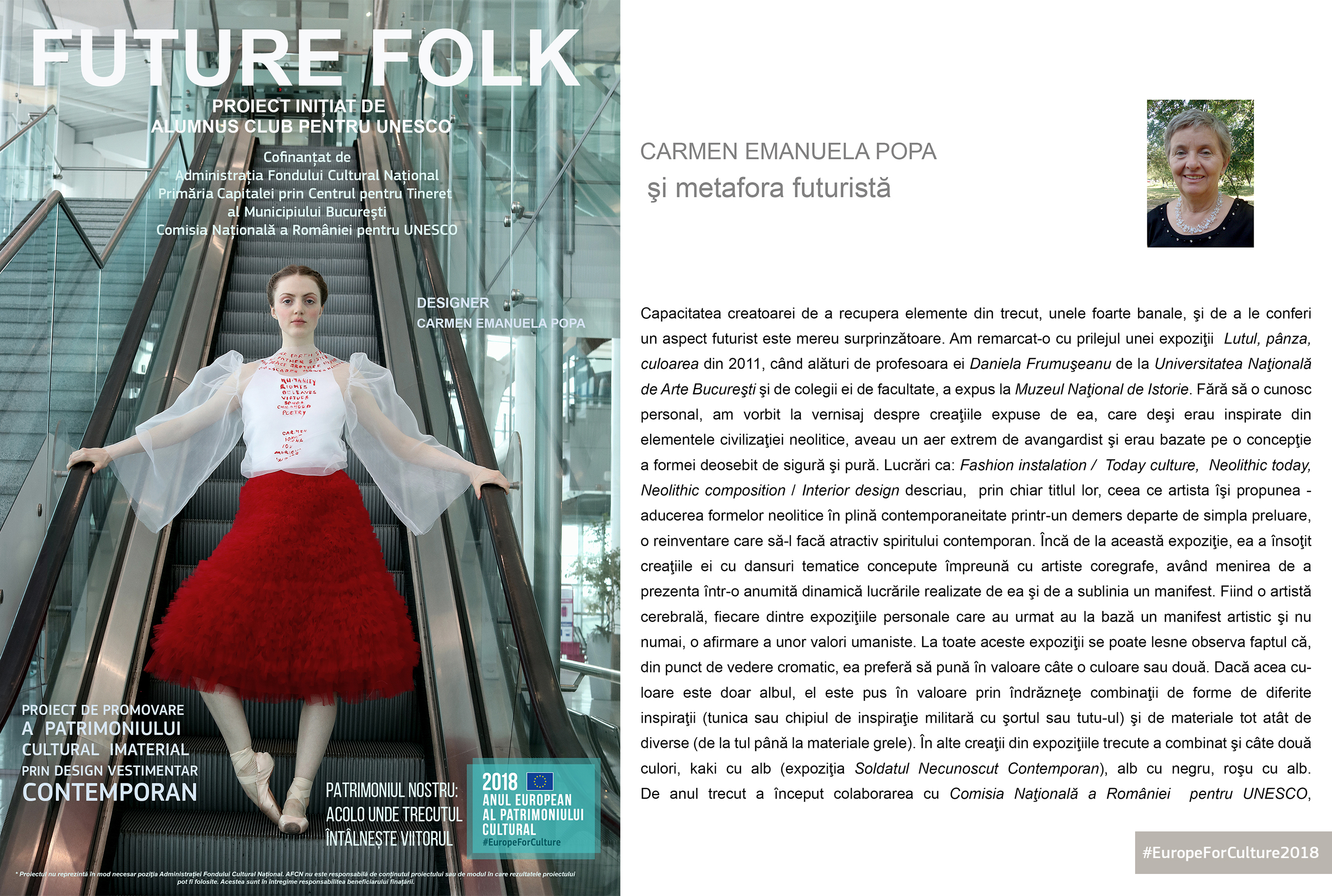The Official Book of  FUTURE FOLK  Project  EuropeForCulture2018